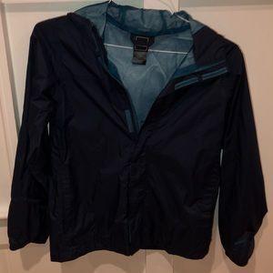 Boys Navy Blue Raincoat